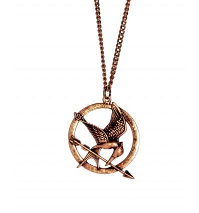 Collana della Ghiandaia Imitatrice vesione Bronzo - Hunger Games