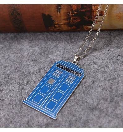 Collana Tardis versione Blu - Doctor Who
