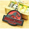 Portachiavi Jurassic Park - versione Rossa e Nera