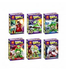 Set LEGO compatibili - Tartarughe Ninja - set da 6