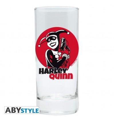 BICCHIERE HARLEY QUINN in vetro - BATMAN - DC Comics - High Quality