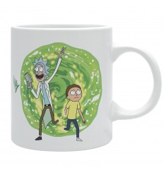 TAZZA di  RICK e MORTY - Netflix - Adult Swim - Cartoon Network - High Quality