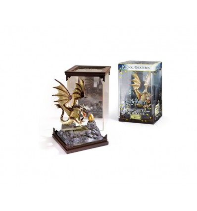 Noble Collection - Statuina Drago Ungaro Spinato - Hungarian Horntail - Prop - Harry Potter - Animali Fantastici - NN7539