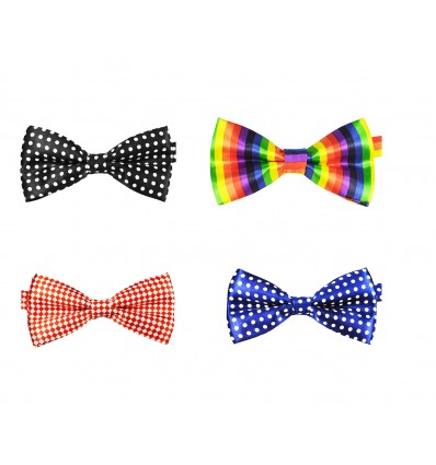 Cravatta PAPILLON Unisex - Farfallino - Bow Tie - COLORATI  ed ELEGANTI - VARIE FANTASIE -  High Quality