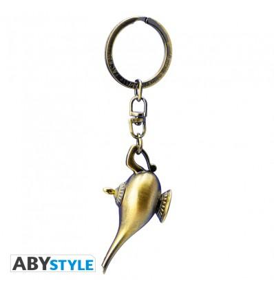 Portachiavi LAMPADA del GENIO - Aladdin - Disney - High Quality Keychain