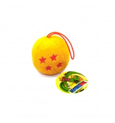 Portachiavi PALLINA morbida SFERA DEL DRAGO - QUATTRO STELLE - Dragon Ball - Abysse Corp - High Quality Keychain