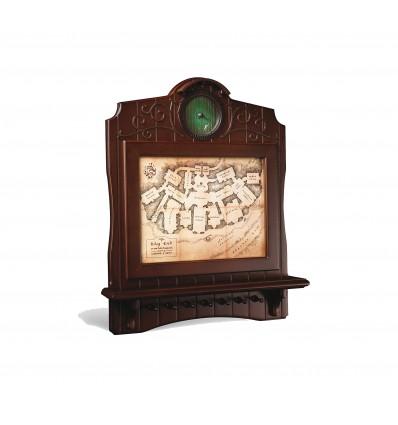 Noble Collection - Portachiavi da parete in LEGNO Mappa di casa Baggins - Il Signore degli Anelli - Lord of the Rings - NN2435
