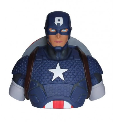 SALVADANAIO BUSTO di CAPITAN AMERICA - Steve Rogers - Bust Blank - Marvel Comics - Abysse Corp - High Quality