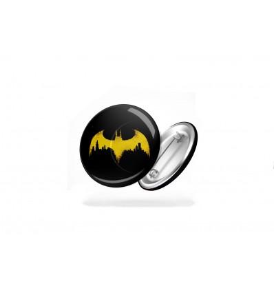 SPILLE ROTONDE - LOGHI DC COMICS - Batman Superman Wonder Woman - BADGE - PERSONALIZZABILI! - High Quality