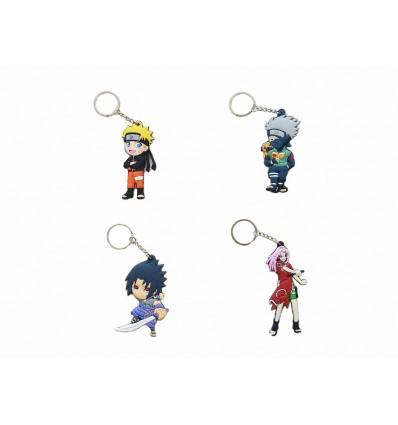 Portachiavi NARUTO in gomma! Sasuke - Sakura - Kakashi - VARI PERSONAGGI - High Quality