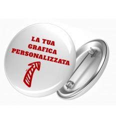 SPILLE ROTONDE PERSONALIZZABILI!!! Scegli la TUA GRAFICA! Varie Opzioni! IDEA REGALO ORIGINALE