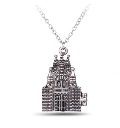 Collana castello di Hogwarts apribile - Harry Potter
