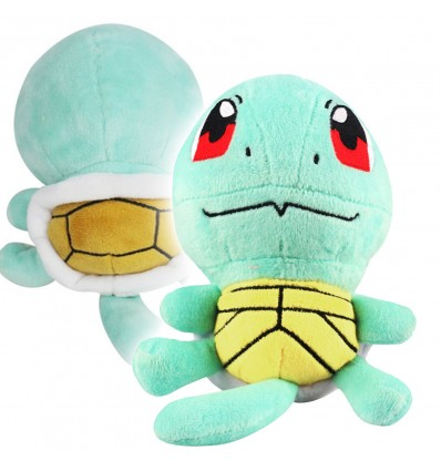 Pokemon Go - SQUIRTLE pupazzo di peluche di qualità - Pokedoll High Quality Toy