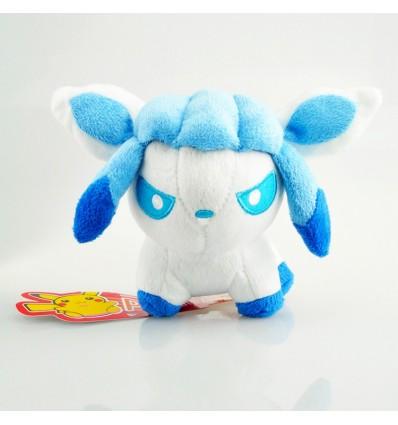 Pokemon Go - GLACEON pupazzo di peluche di qualità - Pokedoll High Quality Toy