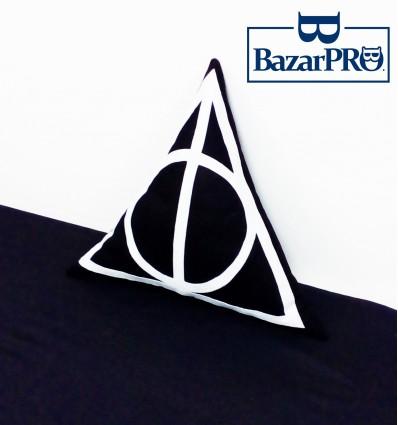 Cuscino DONI della MORTE - Cucito & Rifinito a MANO - Harry Potter/Animali Fantastici High Quality