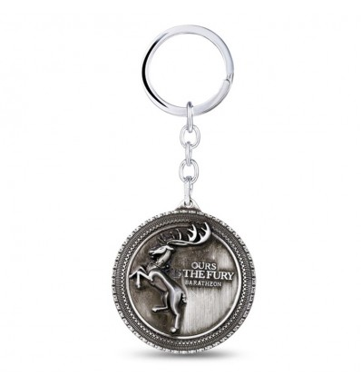 Collana  Simbolo House Baratheon - Cervo rampante - Game of Thrones