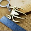 Portachiavi Logo di SPIDERMAN in metallo bronzato - Marvel High Quality Keychain