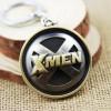 Portachiavi Logo X-MEN in metallo bronzato - Marvel High Quality Keychain