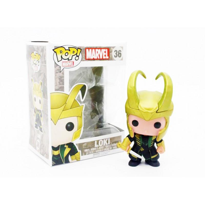Funko Pop Loki The Avenger Bobble Head Marvel Comics
